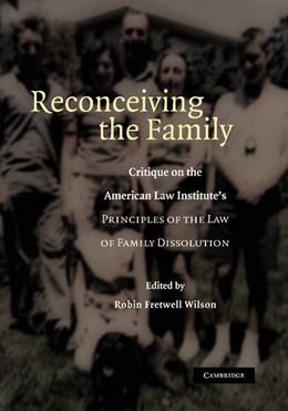 Abbildung von Wilson | Reconceiving the Family | 2012