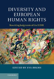 Abbildung von Brems | Diversity and European Human Rights | 2012