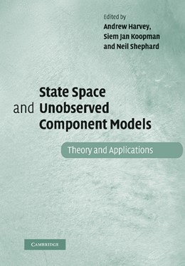 Abbildung von Harvey / Koopman / Shephard | State Space and Unobserved Component Models | 2012 | Theory and Applications