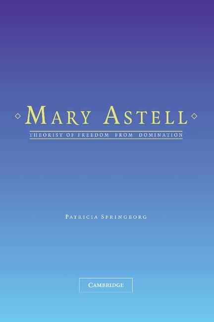 Abbildung von Springborg | Mary Astell | 2012