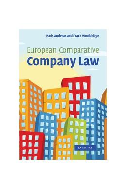 Abbildung von Andenas / Wooldridge | European Comparative Company Law | 2012