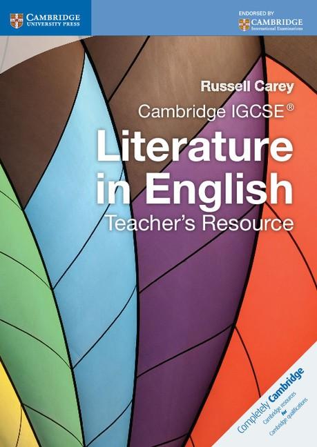 Abbildung von Carey | Cambridge IGCSE Literature in English Teacher's Resource | 2012