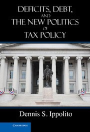 Abbildung von Ippolito | Deficits, Debt, and the New Politics of Tax Policy | 2012