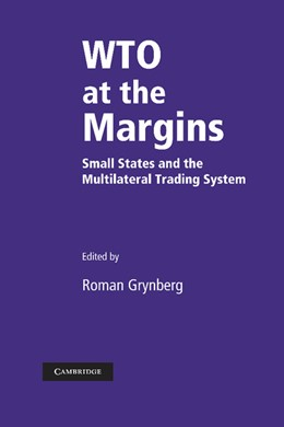 Abbildung von Grynberg | WTO at the Margins | 2012 | Small States and the Multilate...