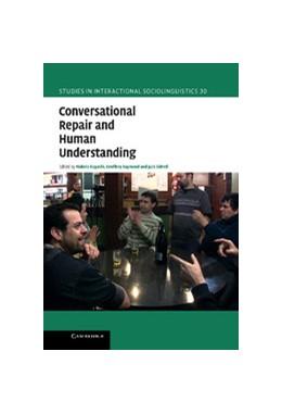 Abbildung von Hayashi / Raymond / Sidnell | Conversational Repair and Human Understanding | 2013 | 30