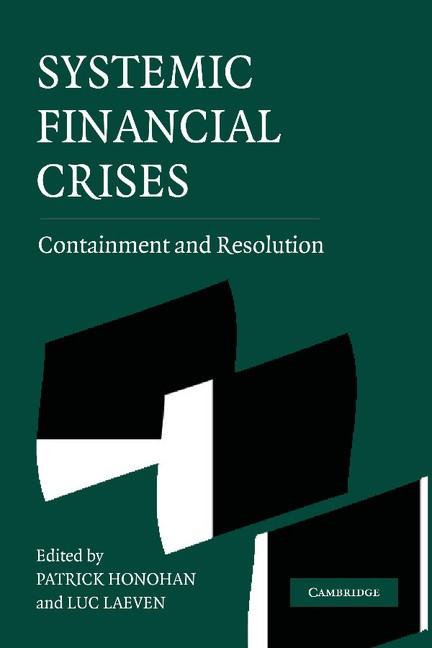 Abbildung von Honohan / Laeven | Systemic Financial Crises | 2012