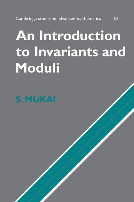 Abbildung von Mukai | An Introduction to Invariants and Moduli | 2012