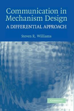Abbildung von Williams | Communication in Mechanism Design | 2012 | A Differential Approach