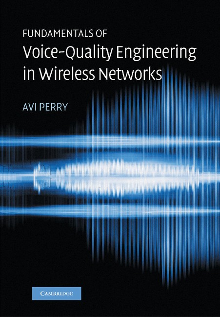 Abbildung von Perry | Fundamentals of Voice-Quality Engineering in Wireless Networks | 2012