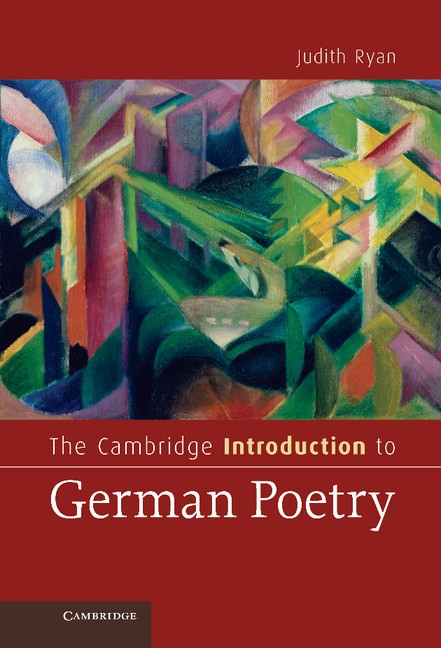 Abbildung von Ryan | The Cambridge Introduction to German Poetry | 2012