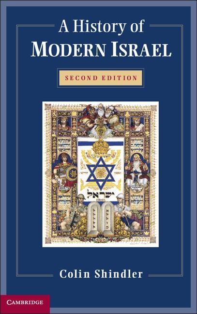 Abbildung von Shindler   A History of Modern Israel   2013