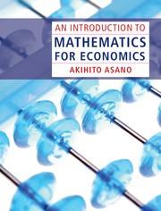 Abbildung von Asano   An Introduction to Mathematics for Economics   2012