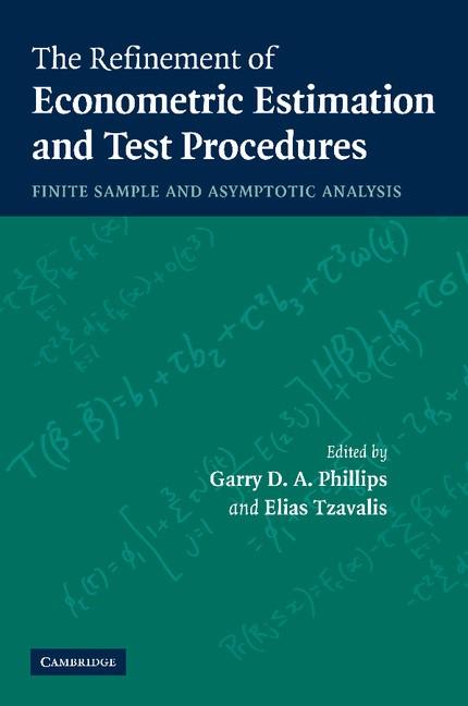 Abbildung von Phillips / Tzavalis | The Refinement of Econometric Estimation and Test Procedures | 2012