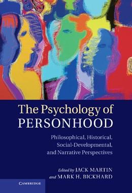 Abbildung von Martin / Bickhard   The Psychology of Personhood   2012   Philosophical, Historical, Soc...