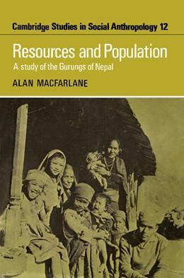 Abbildung von MacFarlane | Resources and Population | 2012 | A Study of the Gurungs of Nepa... | 12
