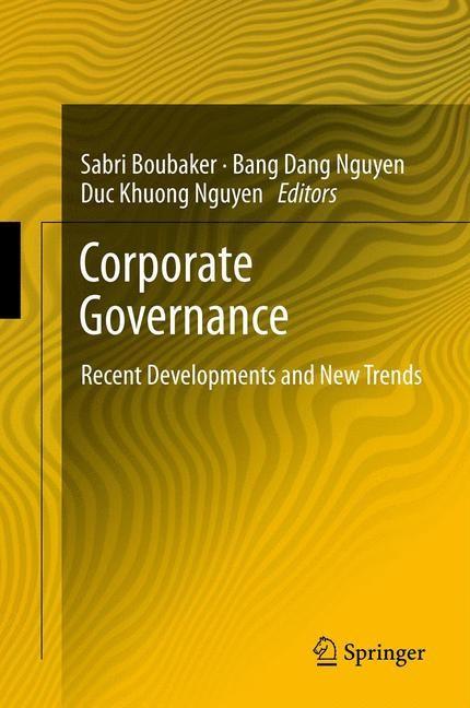 Corporate Governance | Boubaker / Nguyen, 2012 | Buch (Cover)