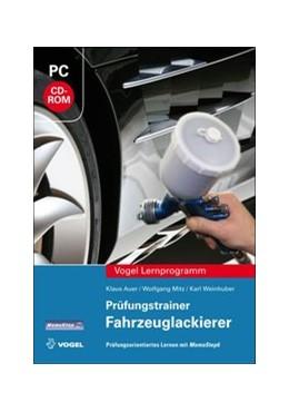 Abbildung von Auer / Mitz / Weinhuber | Prüfungstrainer Fahrzeuglackierer | 2013 | Prüfungsorientiertes Lernen mi...