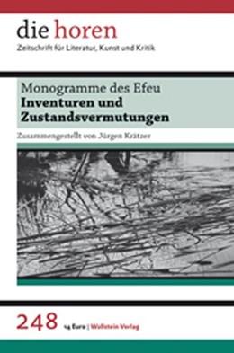 Abbildung von Krätzer | die horen | 2012 | Zeitschrift für Literatur, Kun... | 248