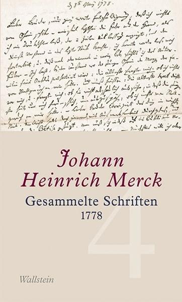 Abbildung von Merck | Gesammelte Schriften - Historisch-kritische und kommentierte Ausgabe / Gesammelte Schriften | 2013