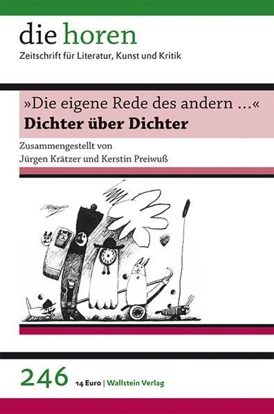 Abbildung von Krätzer / Preiwuß   »Die eigene Rede des andern …«   2012
