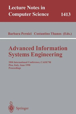 Abbildung von Pernici / Thanos | Advanced Information Systems Engineering | 1998 | 10th International Conference,... | 1413