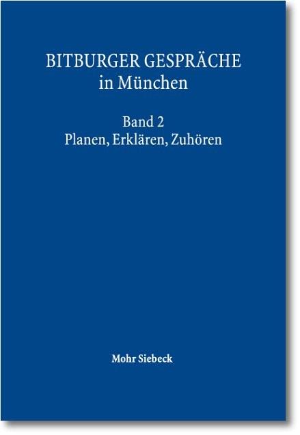 Abbildung von Gesellschaft für Rechtspolitik Trier / Institut für Rechtspolitik an der Universität Trier | Bitburger Gespräche in München | 2012