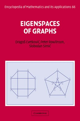 Abbildung von Cvetkovic / Rowlinson / Simic | Eigenspaces of Graphs | 1997 | 66