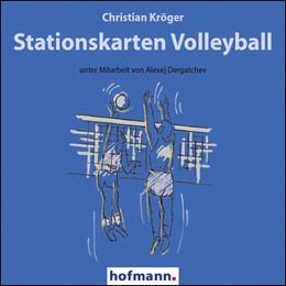 Abbildung von Kröger | Stationskarten Volleyball | 2012