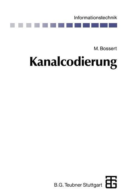 Abbildung von Bossert | Kanalcodierung | 1992