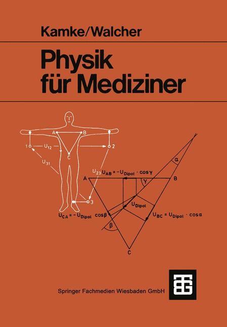 Physik für Mediziner | Kamke / Walcher, 1982 | Buch (Cover)