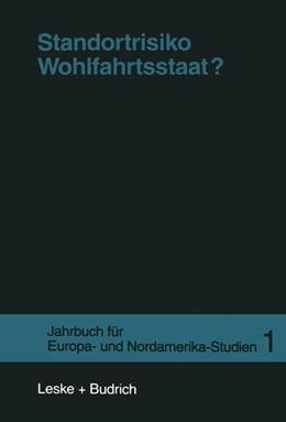 Abbildung von Borchert / Lessenich / Lösche | Standortrisiko Wohlfahrtsstaat? | 1997 | 1997 | 1