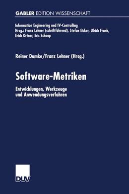 Abbildung von Dumke / Lehner | Software-Metriken | 2000 | Entwicklungen, Werkzeuge und A...