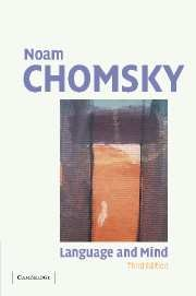 Abbildung von Chomsky   Language and Mind   3rd edition   2006