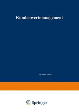 Abbildung von Eberling | Kundenwertmanagement | 2002 | Konzept zur wertorientierten A...