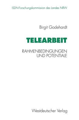 Abbildung von Telearbeit | 1995 | 1995 | Rahmenbedingungen und Potentia...