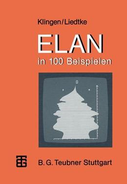 Abbildung von Klingen / Liedtke | ELAN in 100 Beispielen | 1985