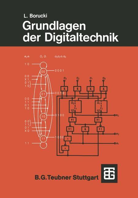 Grundlagen der Digitaltechnik   Borucki, 1988   Buch (Cover)