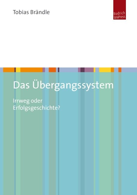 Das Übergangssystem | Brändle, 2012 | Buch (Cover)