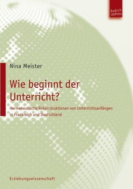 Abbildung von Meister | Wie beginnt der Unterricht? | 2012