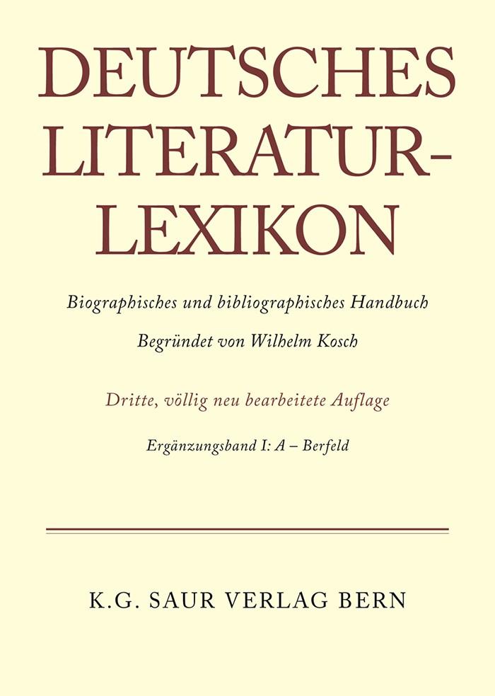A - Bernfeld, 1994   Buch (Cover)