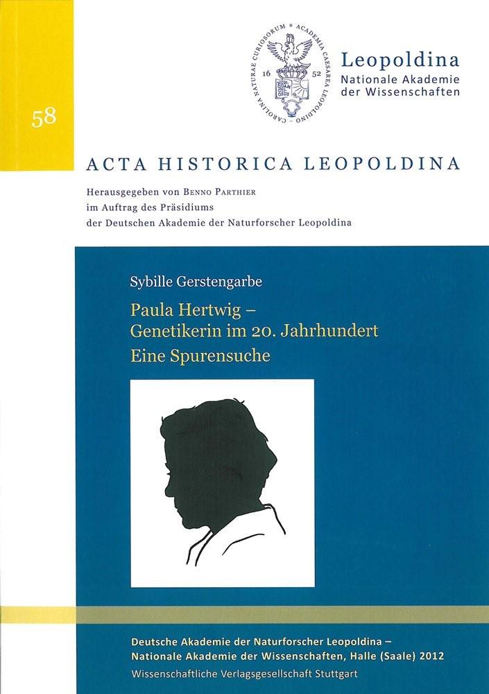 Abbildung von Gerstengarbe   Paula Hertwig – Genetikerin im 20. Jahrhundert. Eine Spurensuche   2012