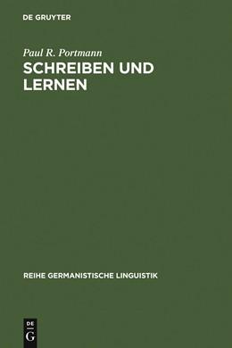 Abbildung von Portmann | Schreiben und Lernen | 1991 | Grundlagen der fremdsprachlich... | 122