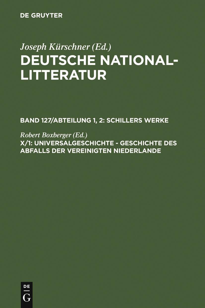 Universalgeschichte | Boxberger, 1974 | Buch (Cover)