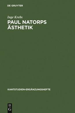 Abbildung von Krebs | Paul Natorps Ästhetik | 1976 | 109