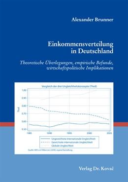 Abbildung von Brunner | Einkommensverteilung in Deutschland | 2012 | Theoretische Überlegungen, emp... | 180