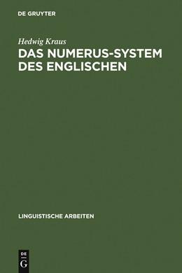 Abbildung von Kraus | Das Numerus-System des Englischen | 1977 | 44