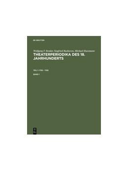 Abbildung von 1750 - 1780 | Reprint 2012 | 1994 | Bd. 1. Bibliographie, Inhaltsv...