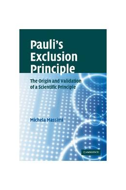 Abbildung von Massimi   Pauli's Exclusion Principle   2012