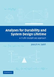 Abbildung von Saleh | Analyses for Durability and System Design Lifetime | 2012