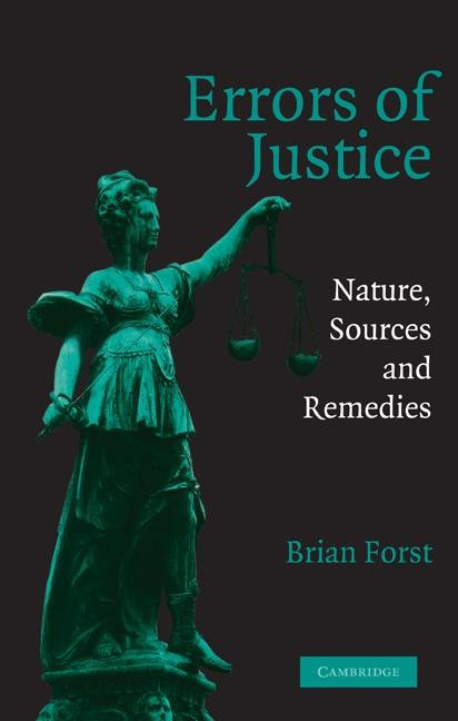 Abbildung von Forst | Errors of Justice | 2003
